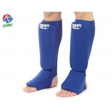 Защита голени FIAS синяя