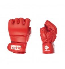Перчатки для боевого самбо MMA красные