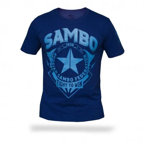 Футболка Самбо - Fight to win S3 BL