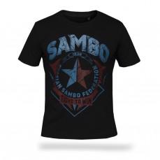 Футболка Самбо - Fight to win S3 BK