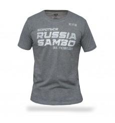 Футболка самбо Бороться за победу S1 меланж