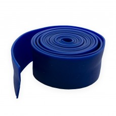 Лента резиновая цельнолитая 40x1,5 мм синяя