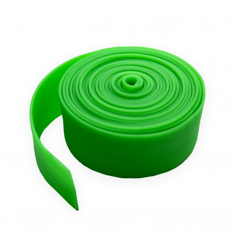 Лента резиновая цельнолитая 40x1,5 мм зеленая