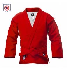 Куртка для самбо ВФС BRAVEGARD Ascend красная